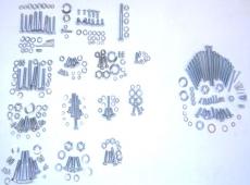 Schraubensatz  Rahmen + Motor RT