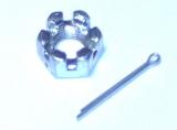 Kronenmutter M 10x1N